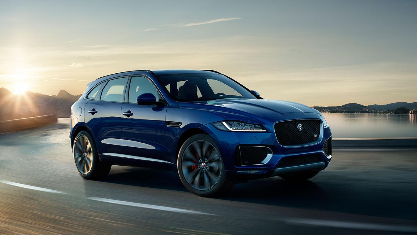 f-pace: bester jaguar modellstart aller zeiten