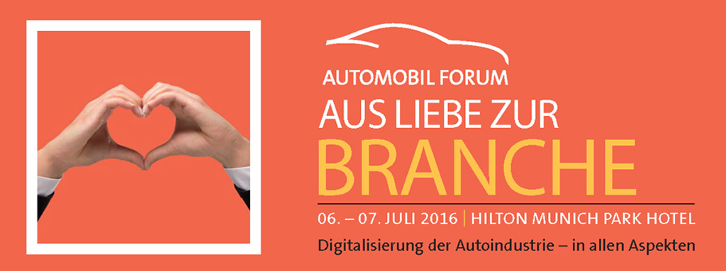 AUTOMOBIL FORUM 2016