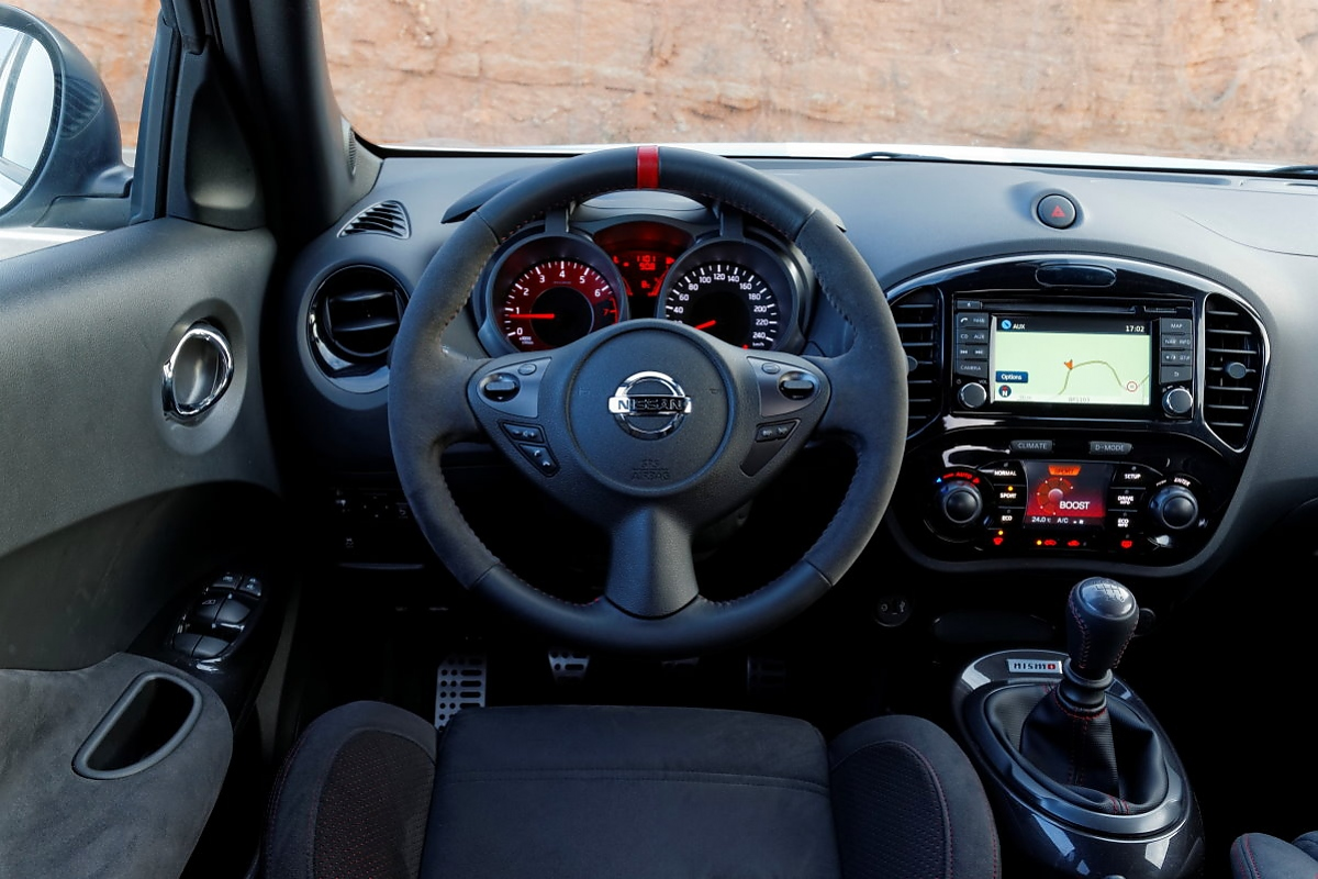 Nissan juke vitaminspritze f r den nismo rs for Nissan juke innenraum