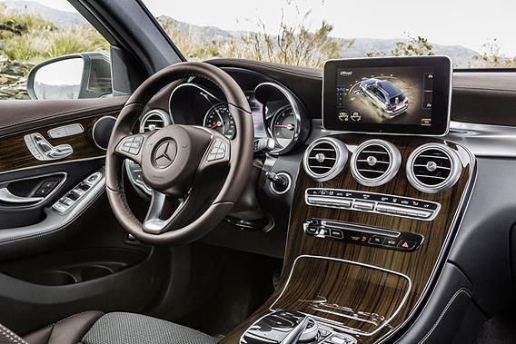Weltpremiere Mercedes GLC: Elegante SUV-Variante der C-Klasse