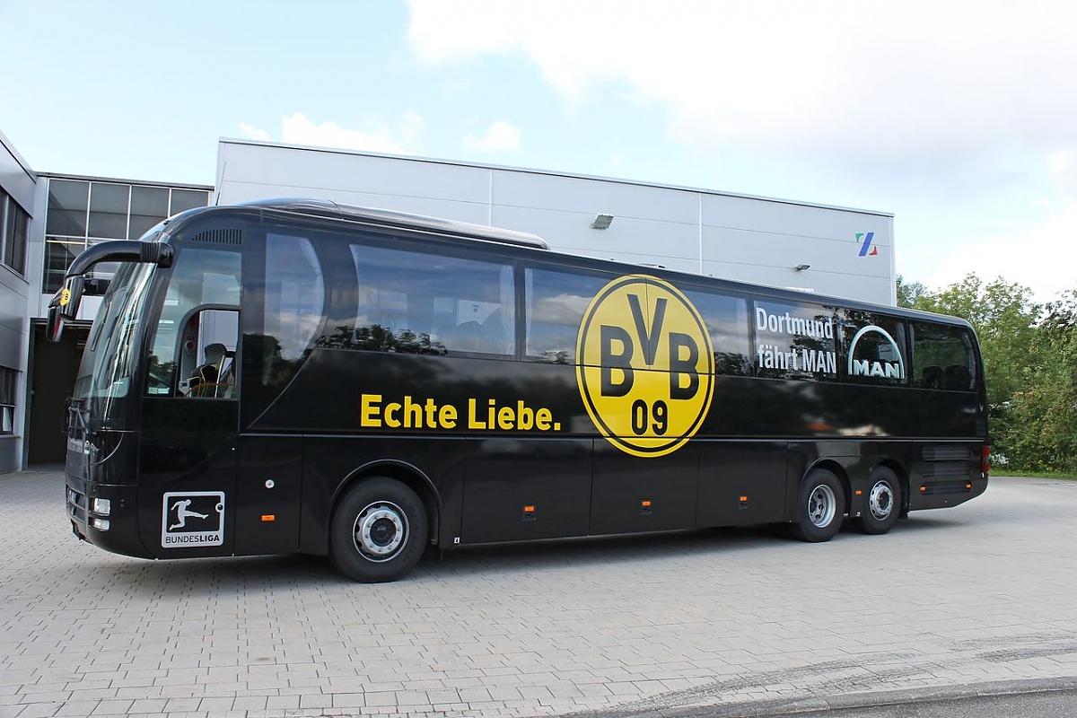 Mannschaftsbusse Der Fu 223 Ball Bundesligisten So Fahren Die