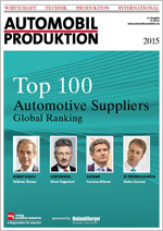 Top 100 Automotive Suppliers Global Ranking 2015