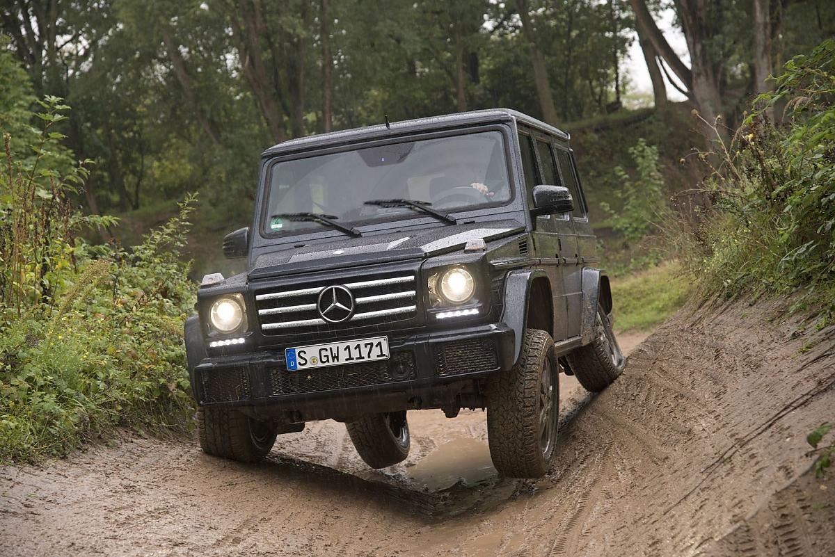 Mercedes g klasse frischzellenkur f r gel nde legende for Mercedes benz service g