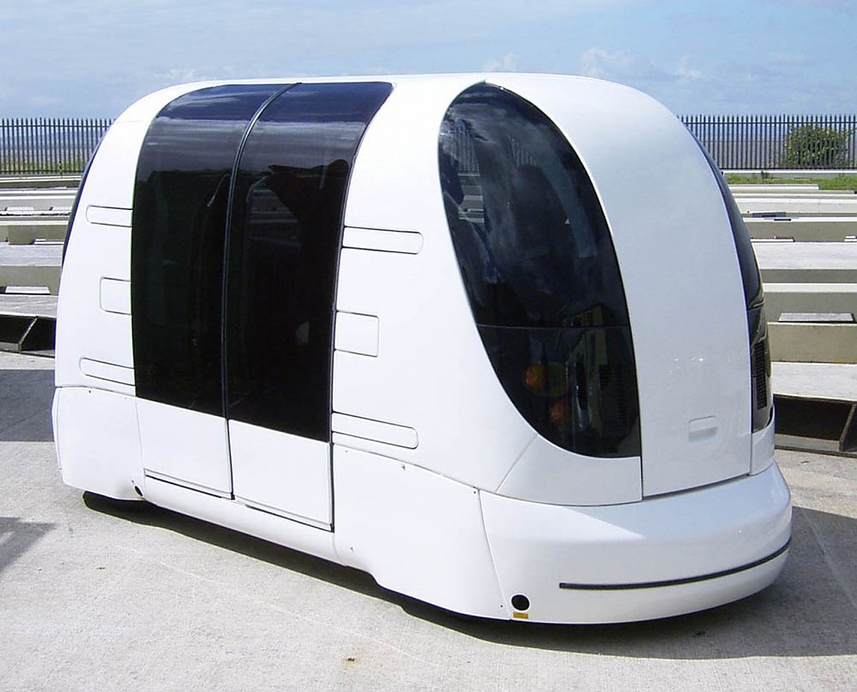 Pod Cars Masdar City