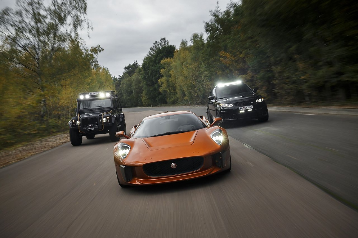 007-Autos aus Spectre : Diese Autos jagen James Bond