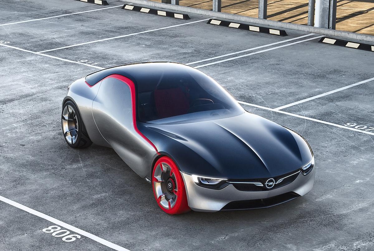 opel gt concept emotionale reinkarnation der roadster legende. Black Bedroom Furniture Sets. Home Design Ideas