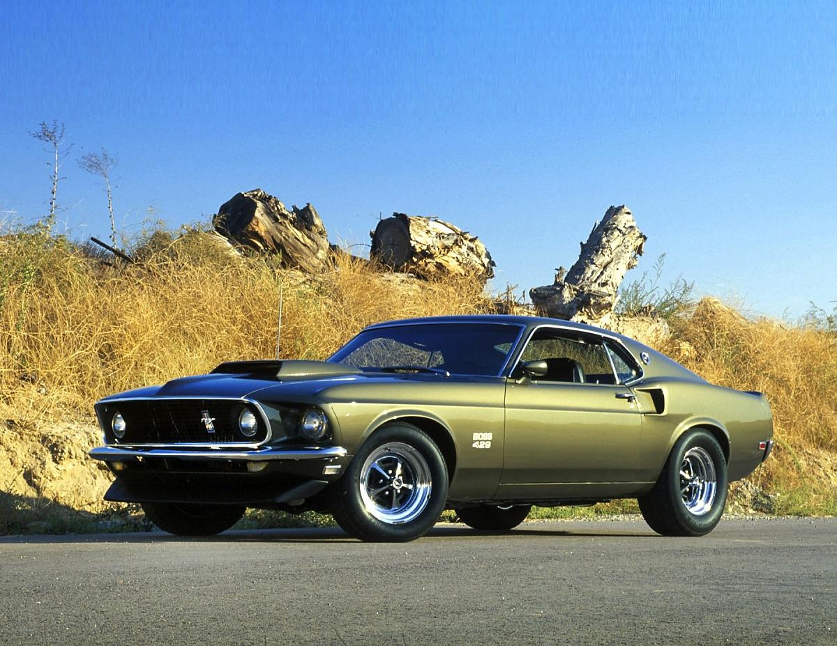 Der Ford Mustang Boss 429 Hatte Einen Motor Mit Kubikzoll 7030 Liter Hubraum Bild Press Inform