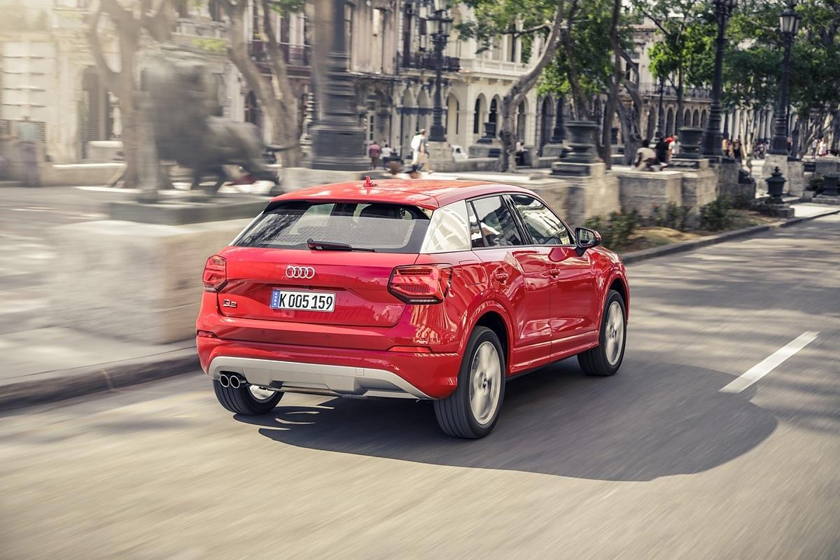 Audi Q Colors