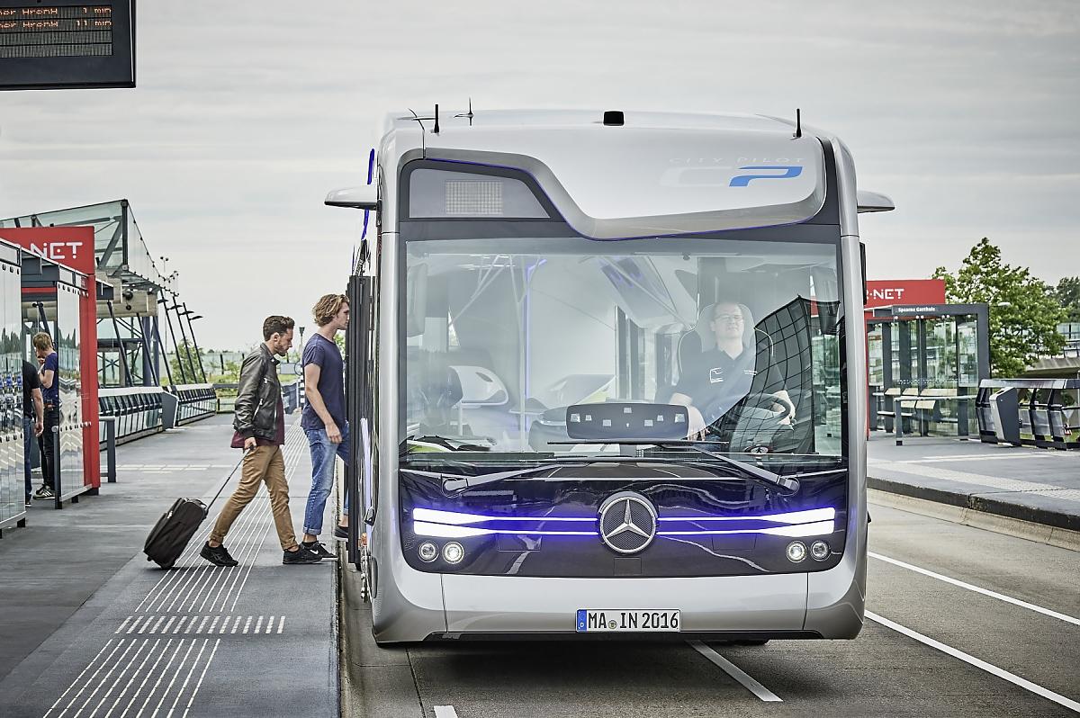 Volvo Garage Amsterdam : Volvo stellt autonomen bus prototyp vor