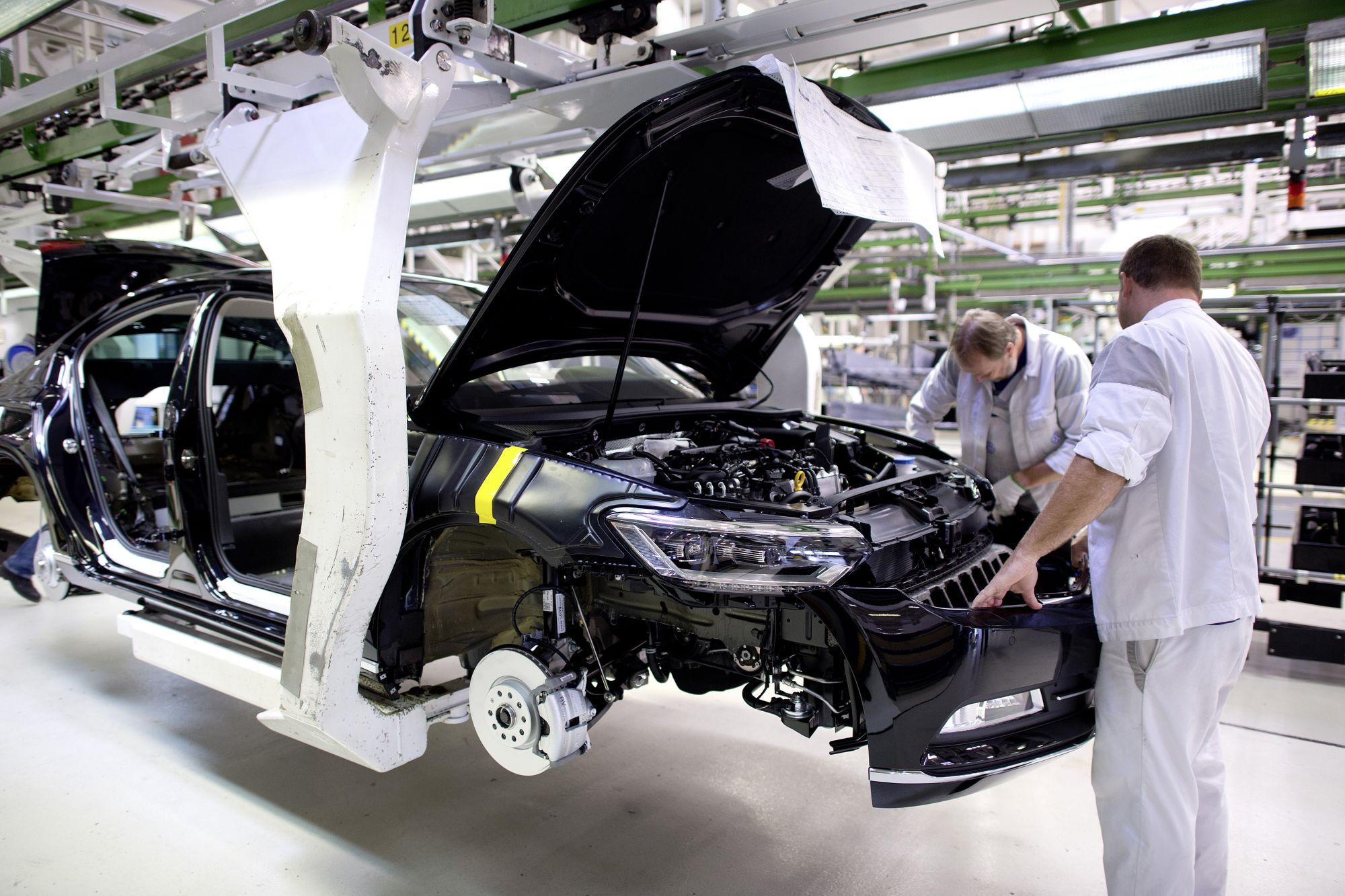 Lieferstopp Trifft Rund 28 000 Vw Mitarbeiter Teils Tagelang