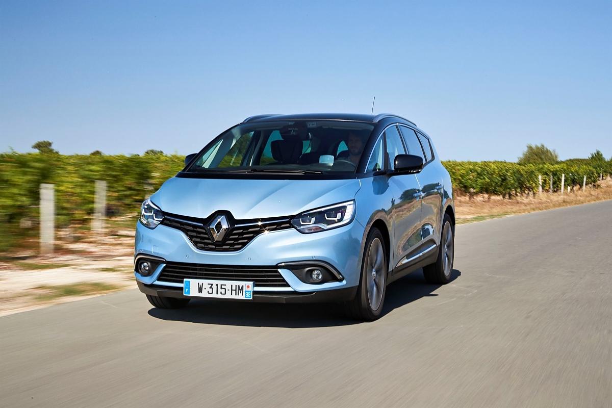 Renault Grand Scenic Großer Wurf Für Große Familien