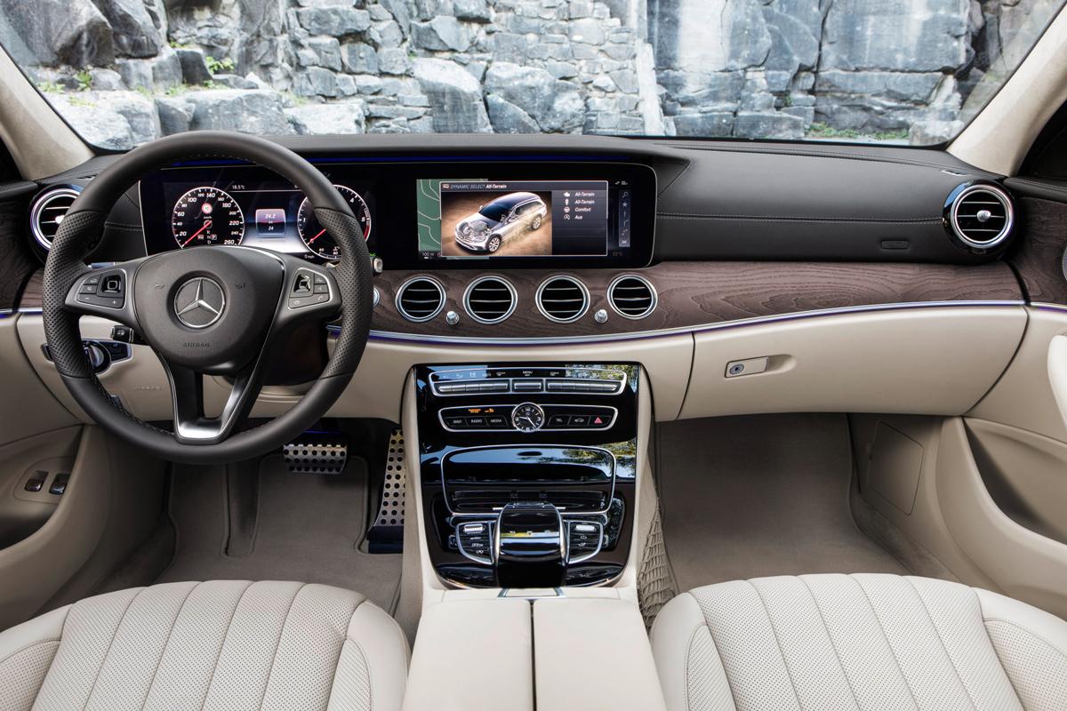 Mercedes e klasse all terrain stock und stein for Interieur e klasse 2017