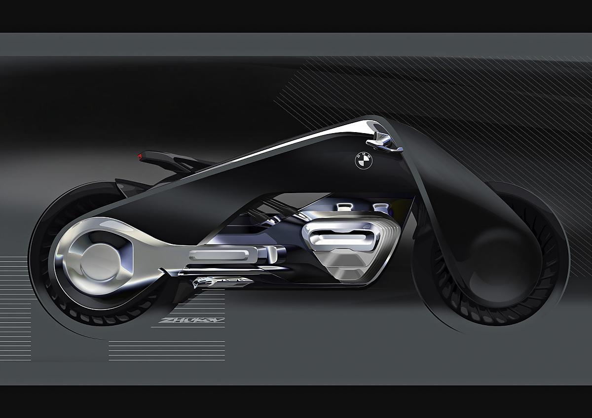 Abschluss 100 Jahre Bmw Das Motorrad Der Zukunft