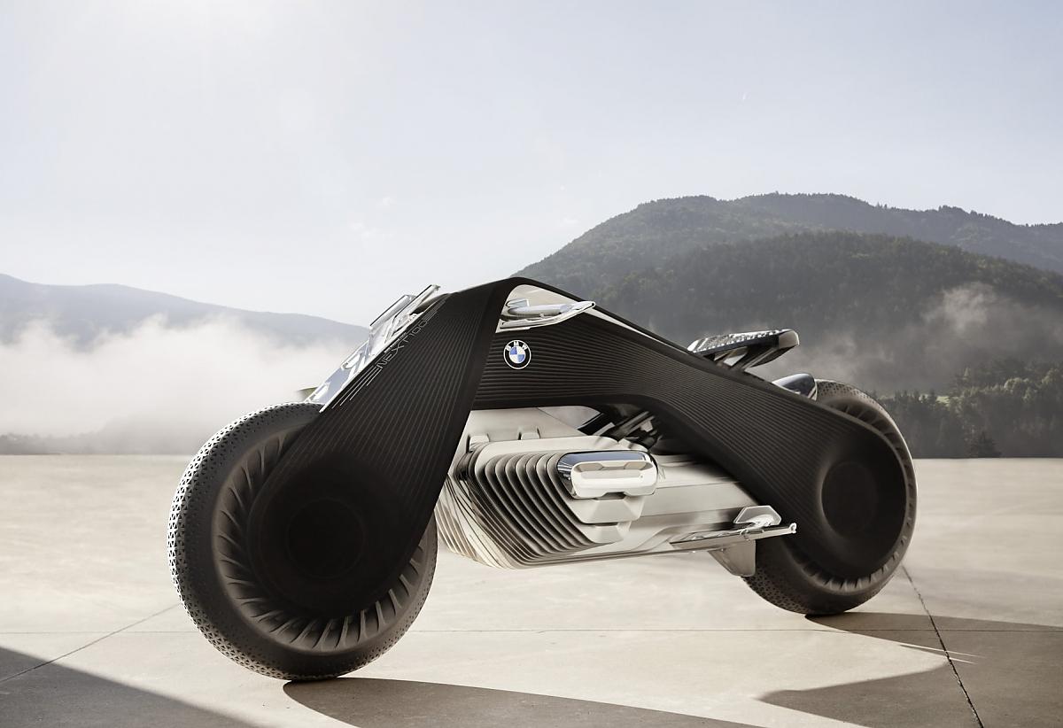 Abschluss 100 Jahre BMW: Das Motorrad der Zukunft