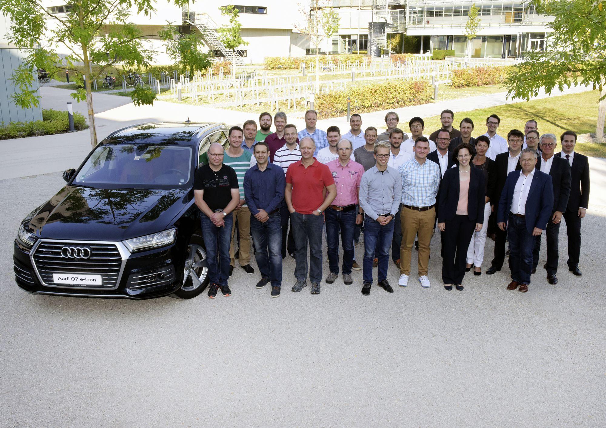 Audi Qualifiziert Entwickler F 252 R Elektromobilit 228 T