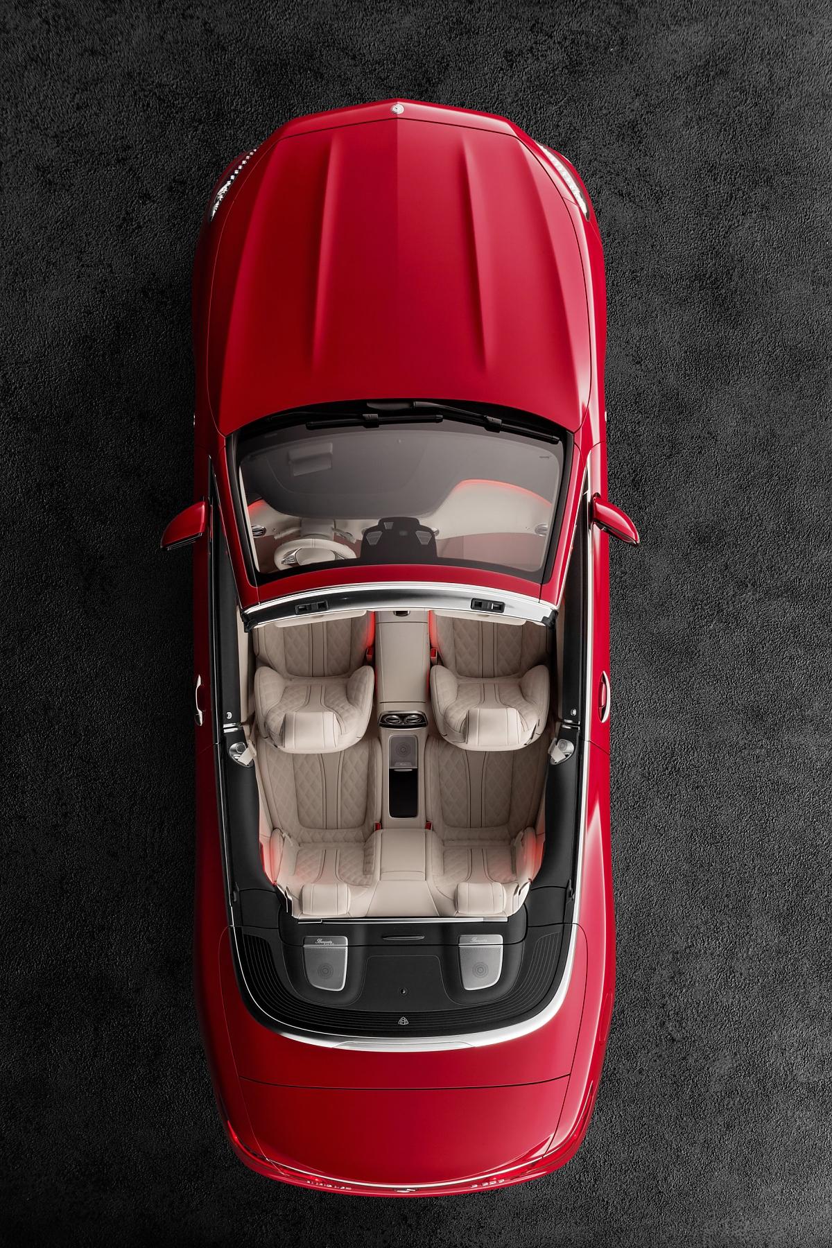 Mercedes Maybach S 650 S Klasse Cabrio Mit Taschenset