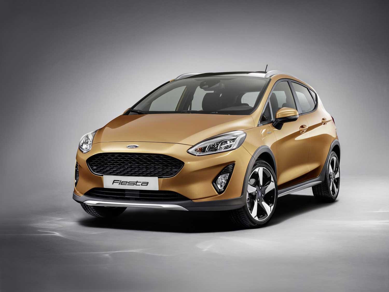 Den Neuen Ford Fiesta Wird Es Auch Als Crossover In Der Active Version Geben Bild Press Inform