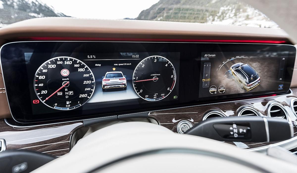 Mercedes E 220 d All-Terrain: Höhergelegter Allrounder