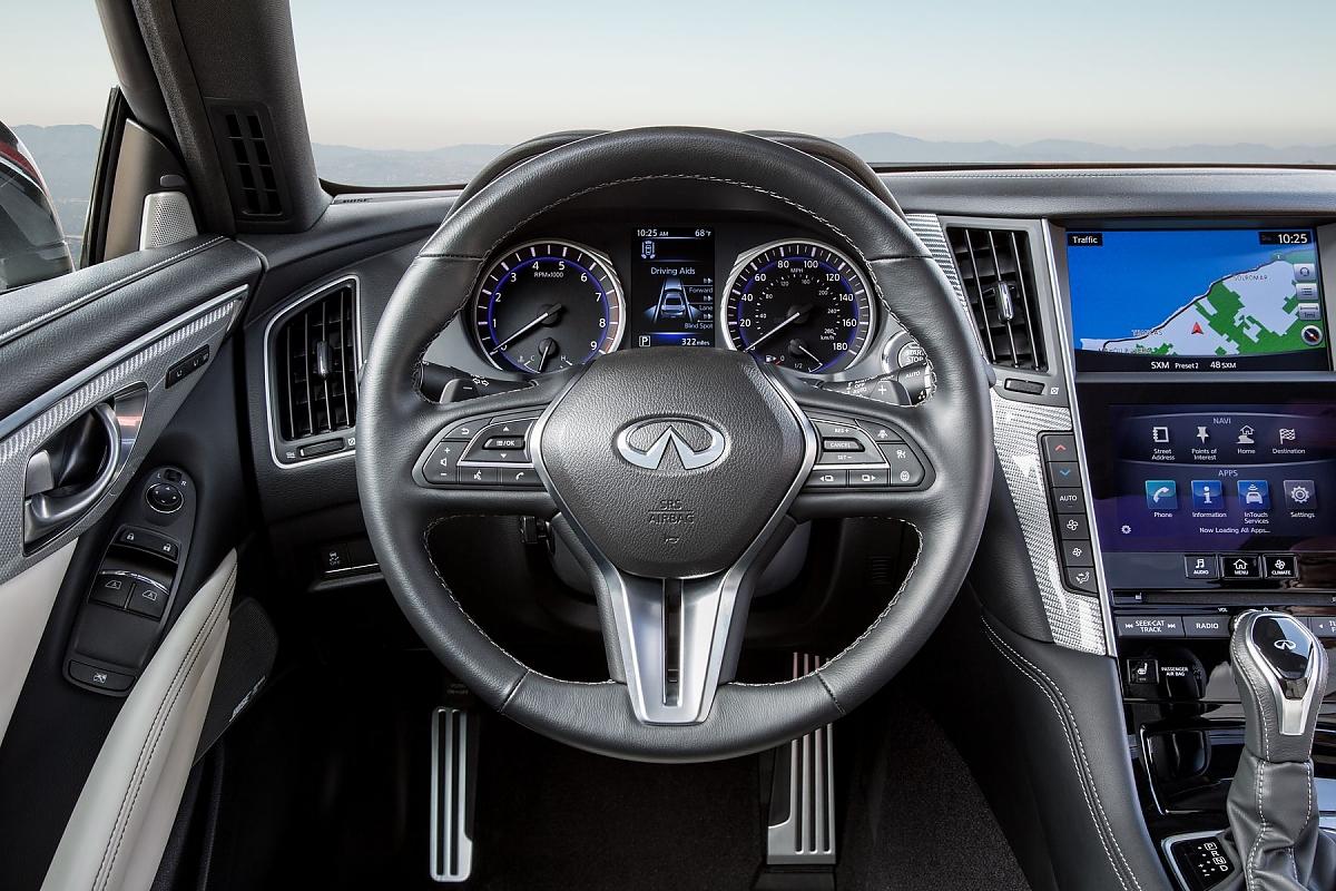 Infiniti Q60: Leise Konkurrenz für den BMW 4er