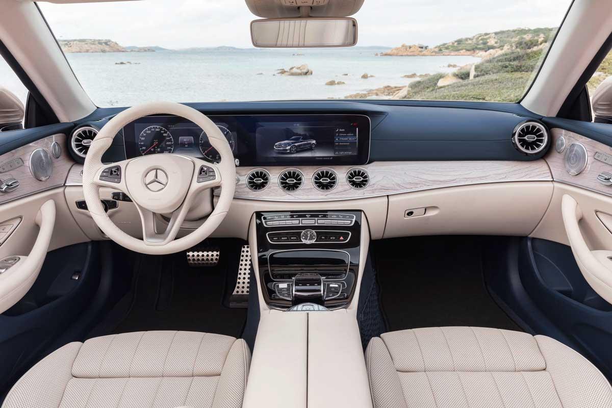 Mercedes E Klasse Cabrio Offen Für Vier