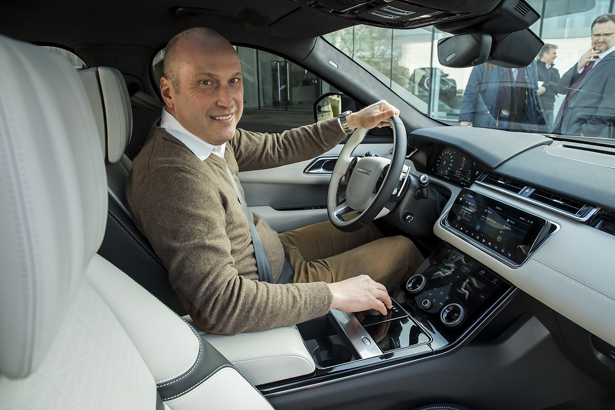 Velar Land Rover >> Range Rover Velar: Luxuriöser Macan-Gegner
