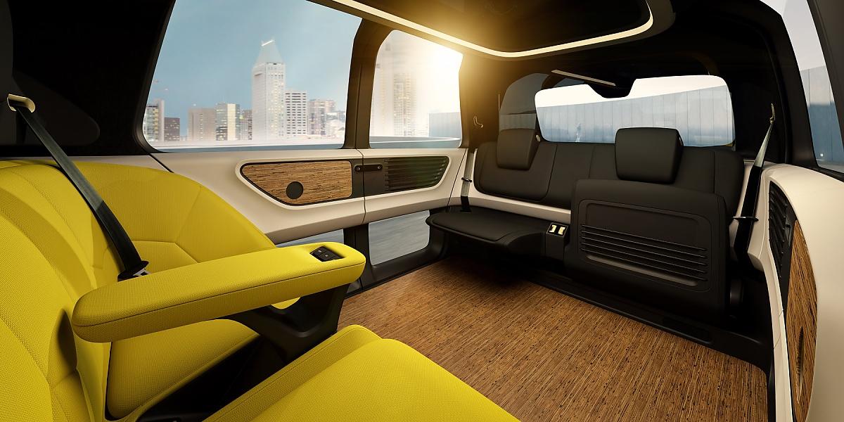 volkswagen zeigt elektro concept car sedric. Black Bedroom Furniture Sets. Home Design Ideas