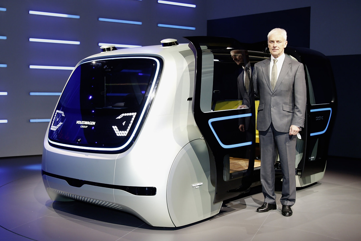 Volkswagen Zeigt Elektro Concept Car Quot Sedric Quot