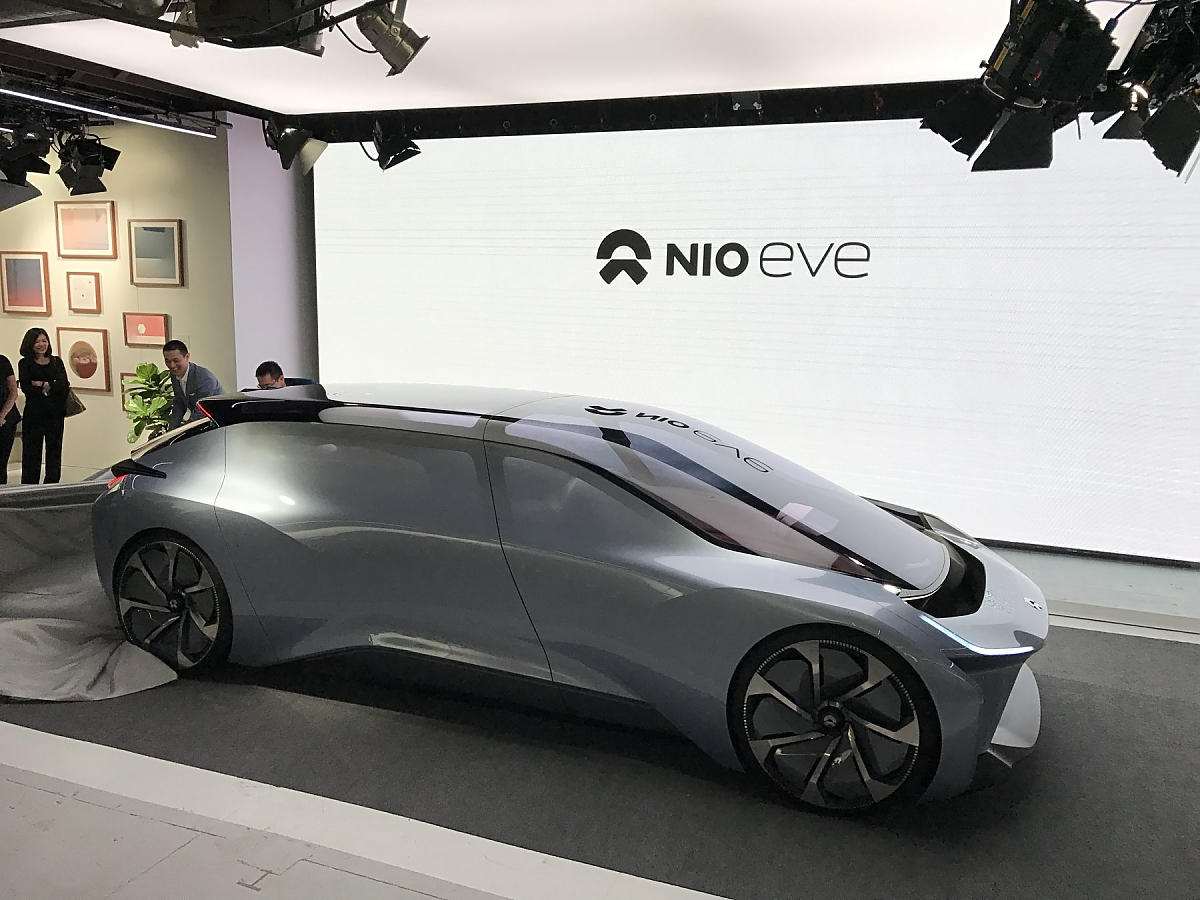Nio Eve Der N 228 Chste Tesla