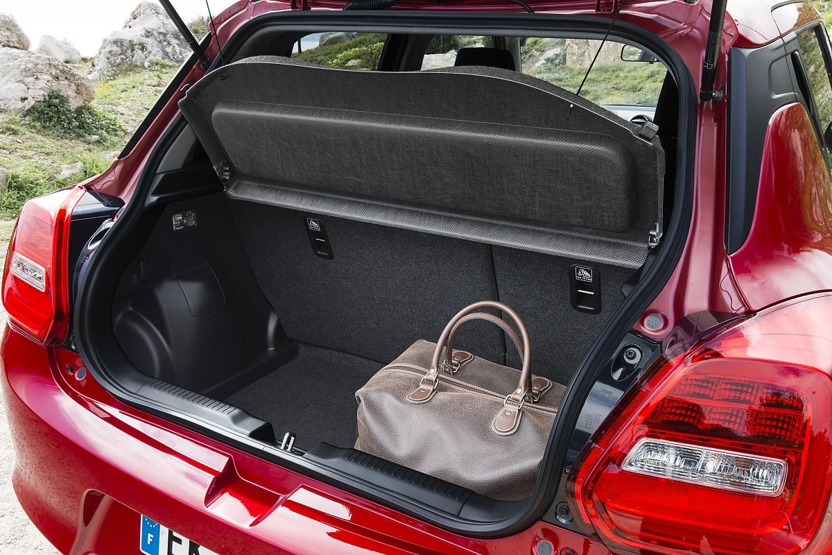 Der Kofferraum Fasst Zwischen 265 Und 947 Liter Bild Press Inform Suzuki