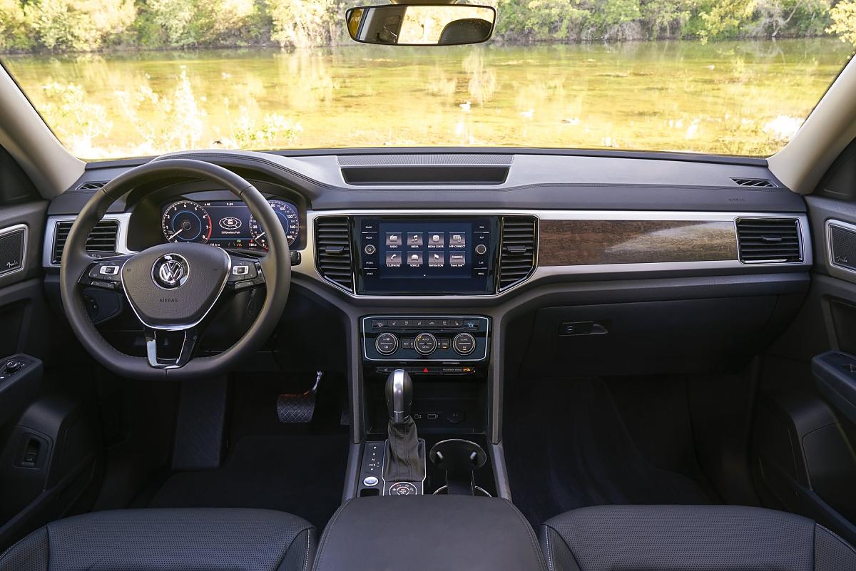 Volkswagen Atlas: Import aus den USA