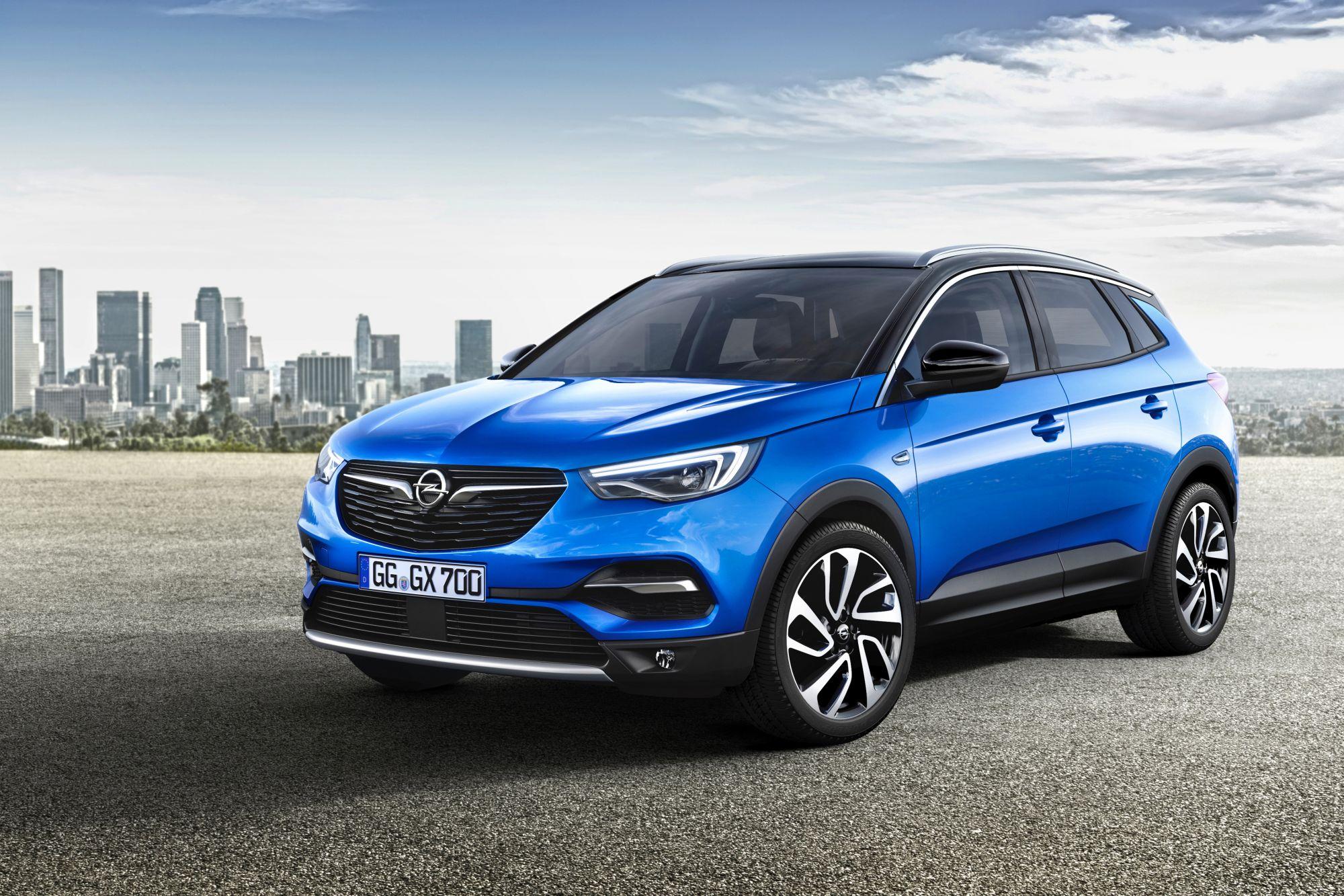 Opel Grandland X ergänzt im Herbst die SUV-Palette