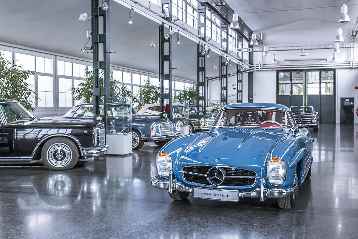 Mille miglia hei e phase f r mercedes oldtimermonteure for Mercedes benz classic car center
