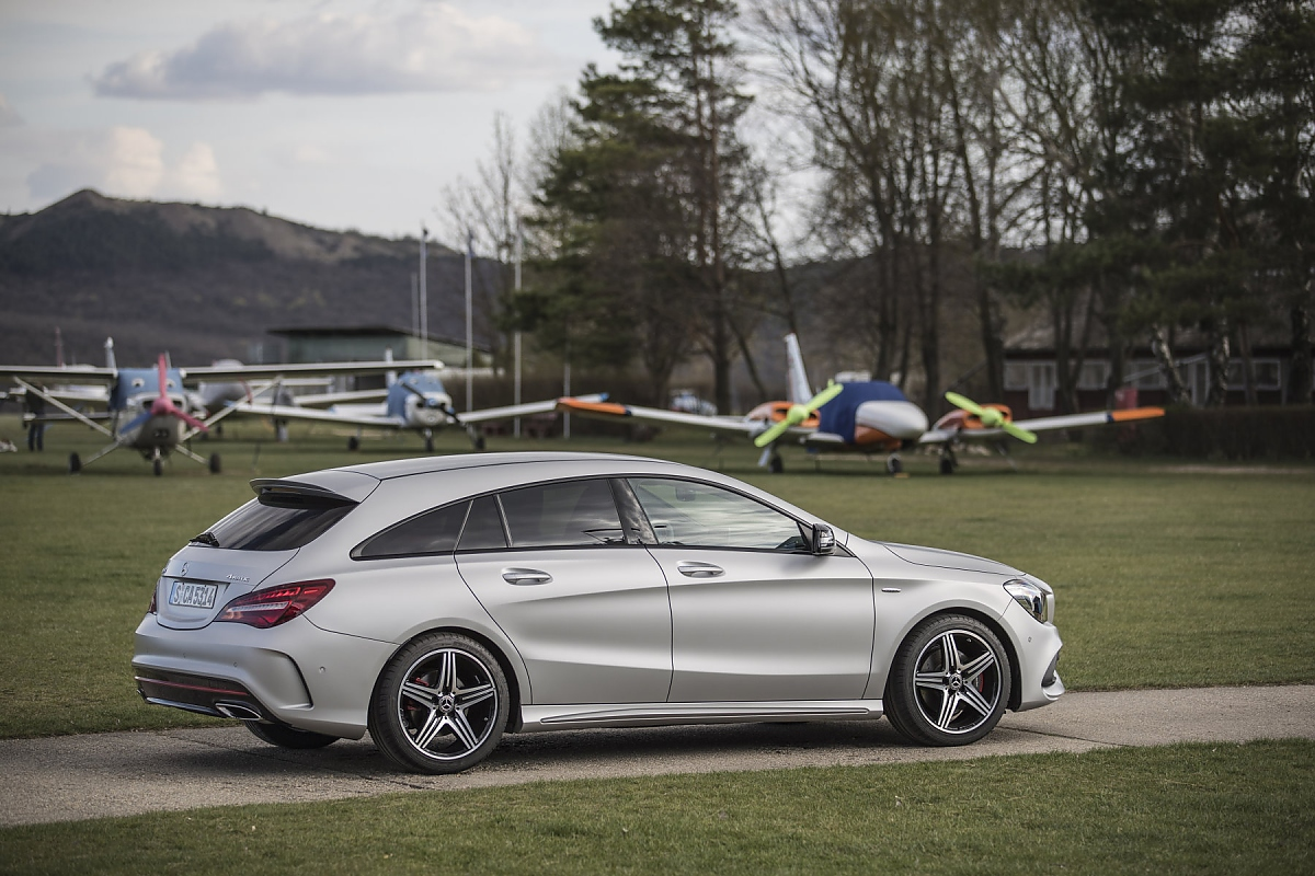 Cla Shooting Brake Mercedes Cla Shooting Brake Review 2017 Autocar