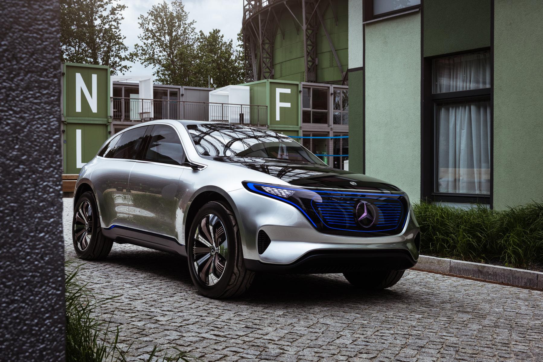 Mercedes Eq Concept Sch 246 Ne Neue Elektrowelt