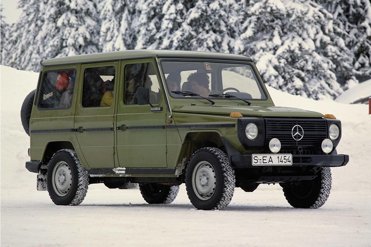 G klasse vom band gelaufen for Mercedes benz 280 ge