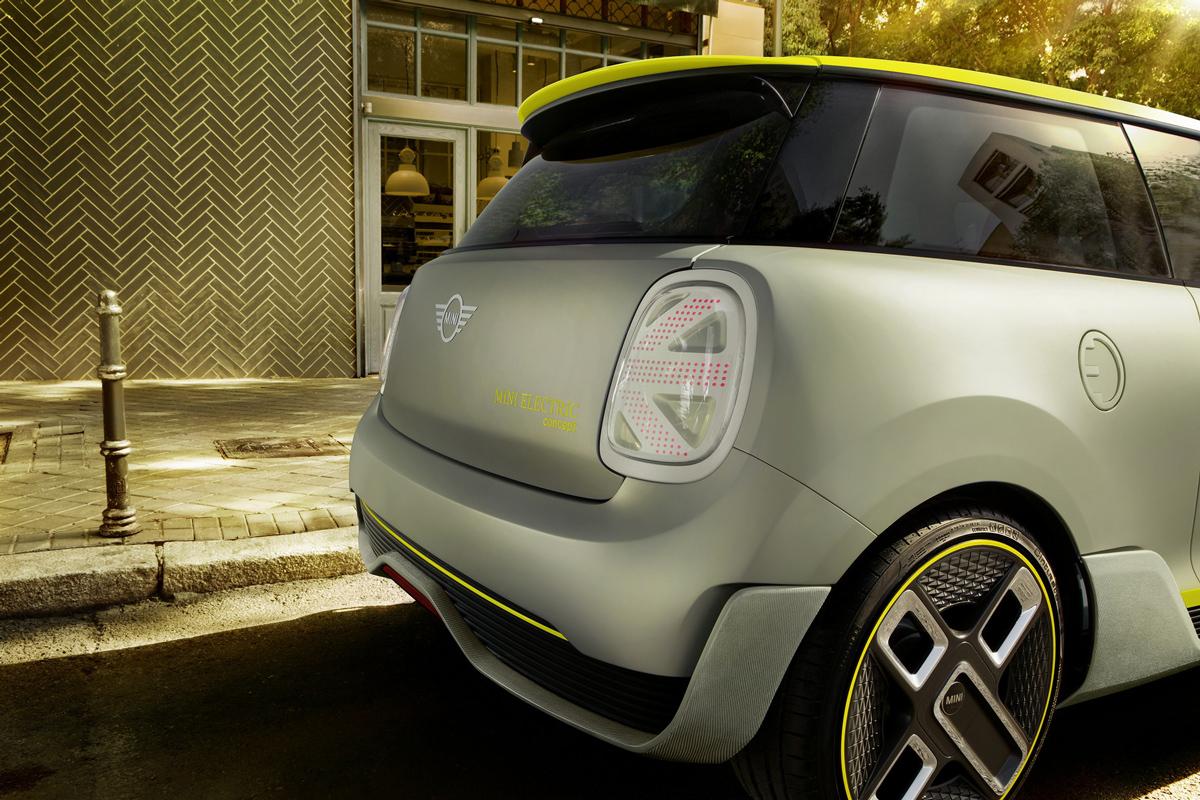IAA-Studie: MINI enthüllt seine elektrische Zukunft
