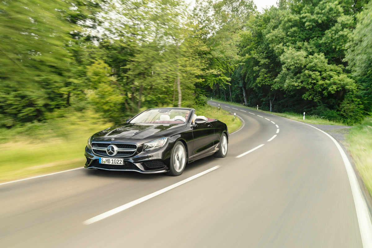 Mercedes S Klasse Coupe Cabriolet 2018 Nachgelegt