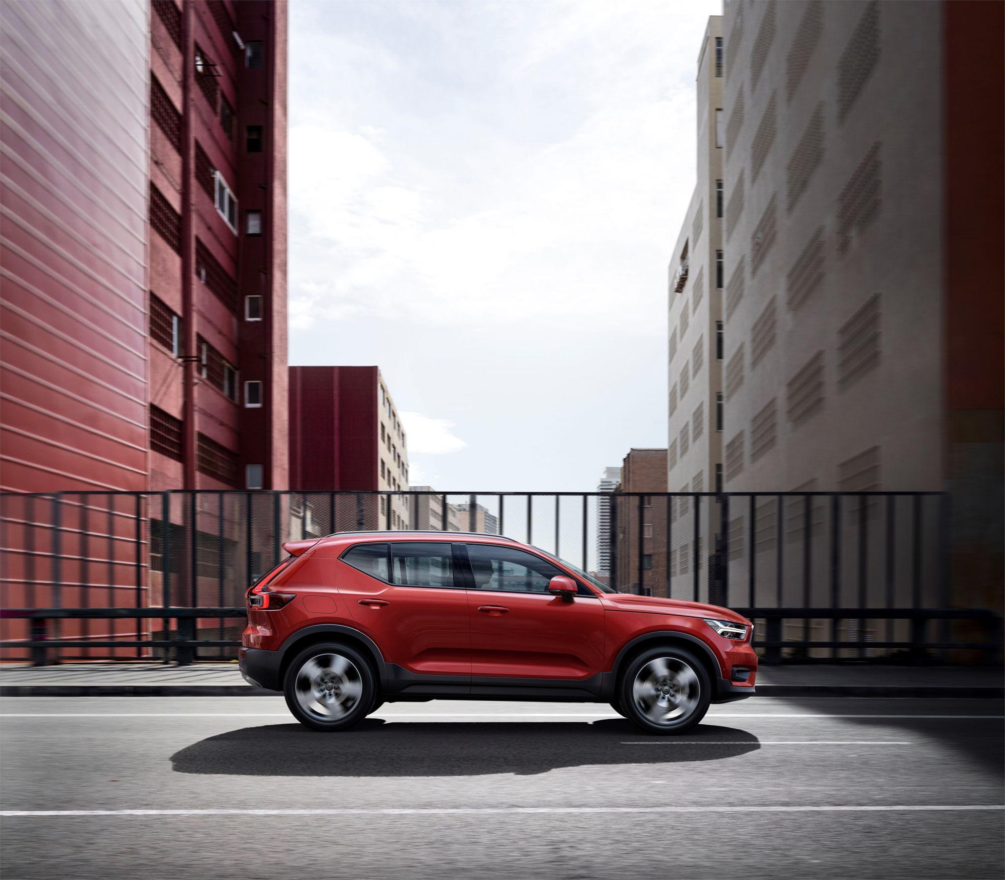 Volvo Car Wallpaper: Volvo Stellt Kompakt-SUV XC40 Vor