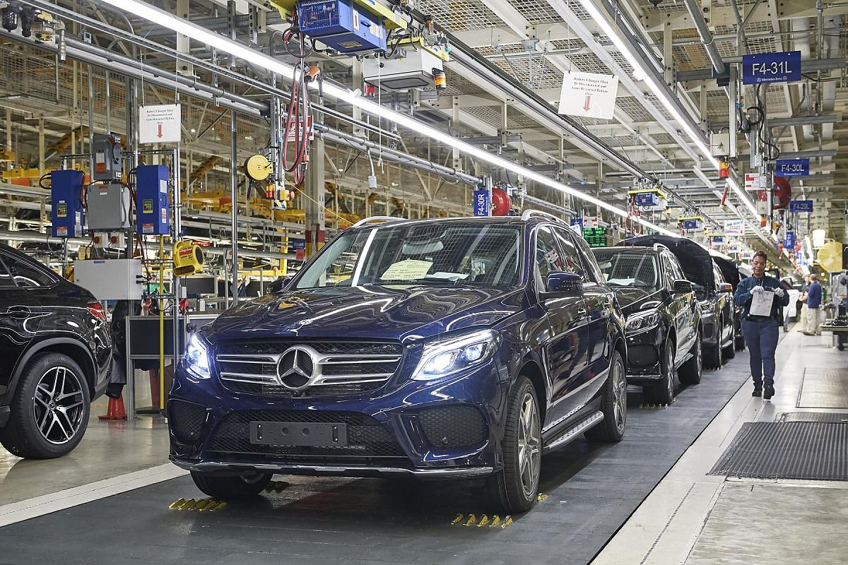 Daimler Werk Tuscaloosa Alabama Goes Electric