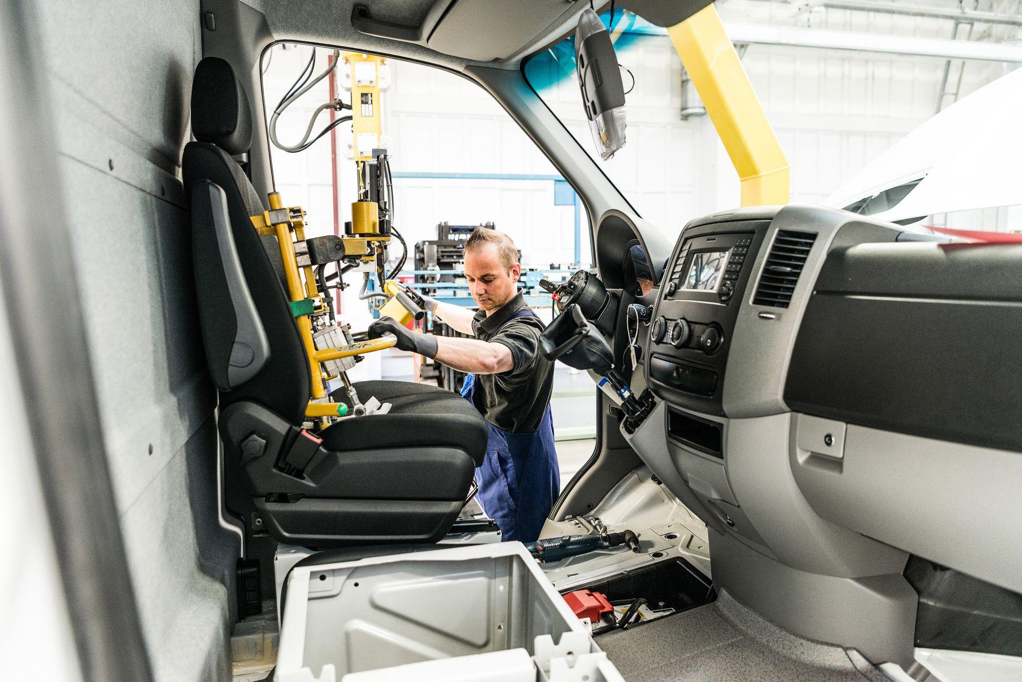 Mercedes-Benz setzt bei Sprinter-Produktion auf Vernetzung