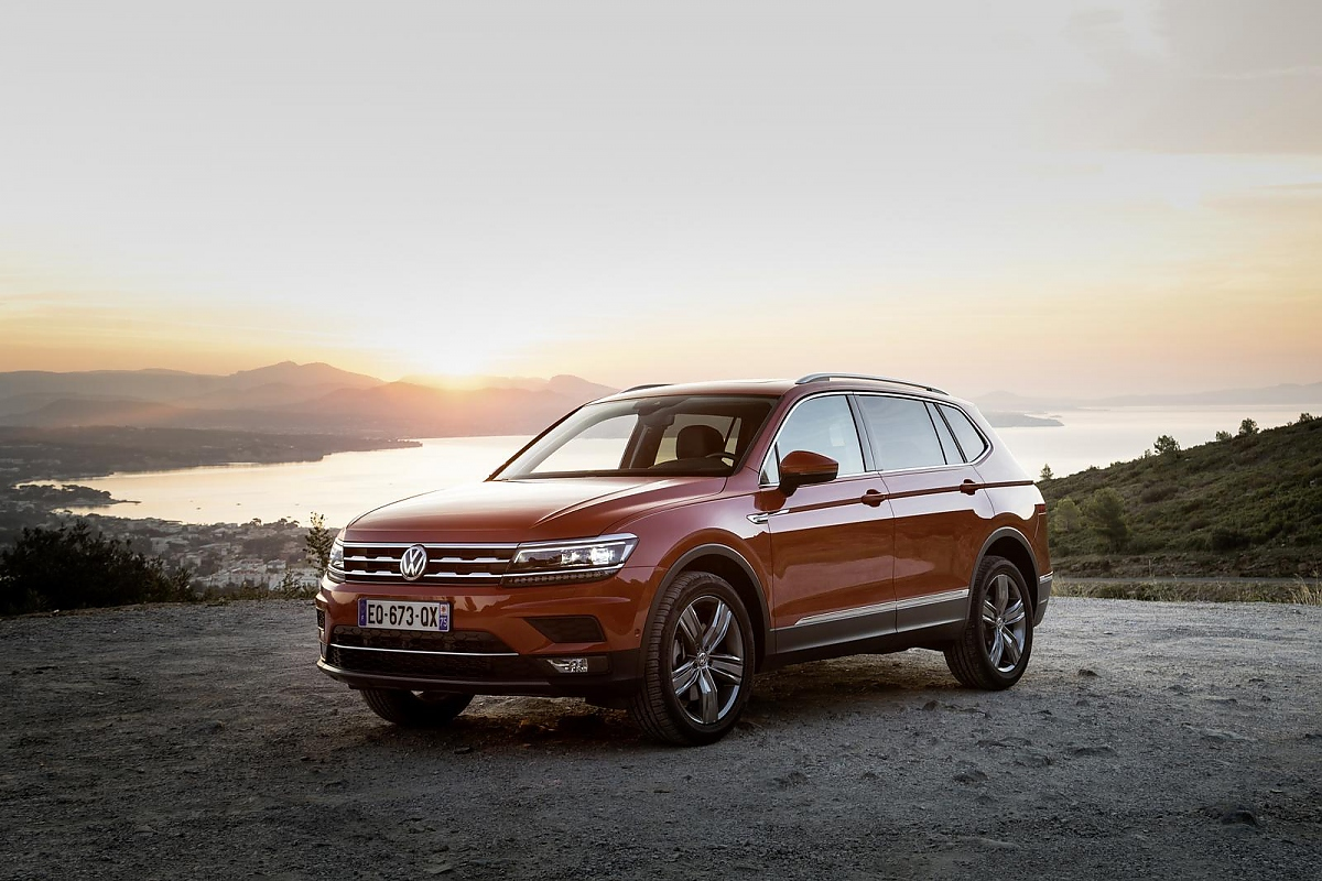 volkswagen tiguan allspace jetzt auch in europa. Black Bedroom Furniture Sets. Home Design Ideas