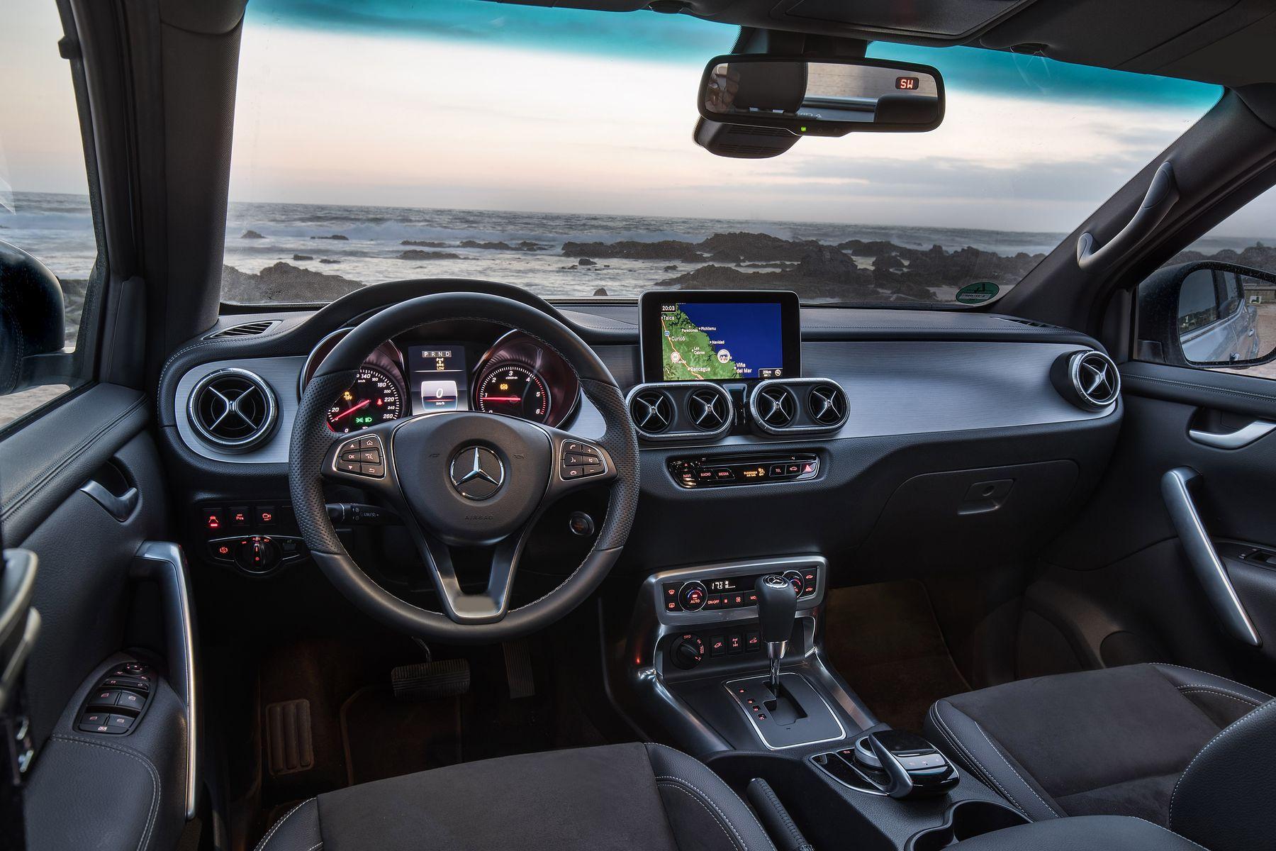 Mercedes X Klasse Arbeitstier Mit Premium Touch
