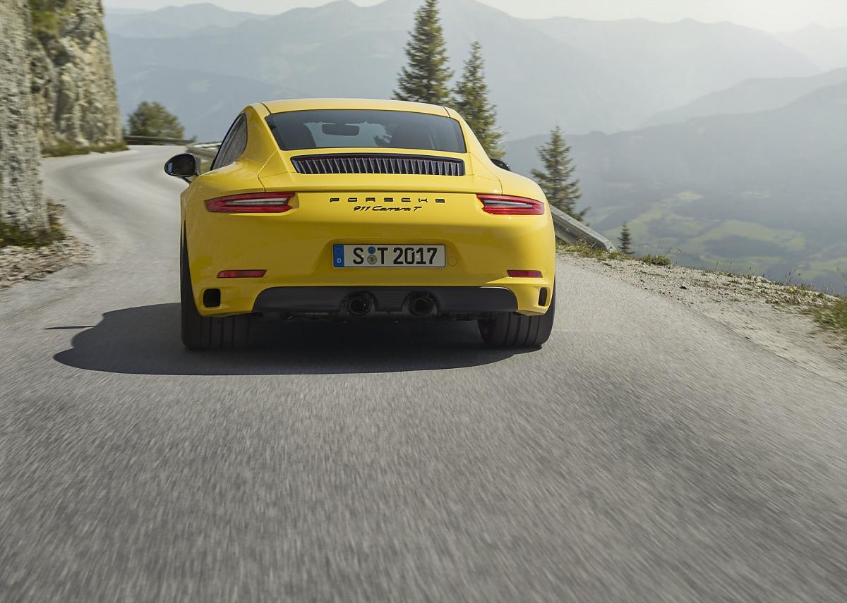 Porsche 911 Carrera T: Ein Abschiedsgeschenk