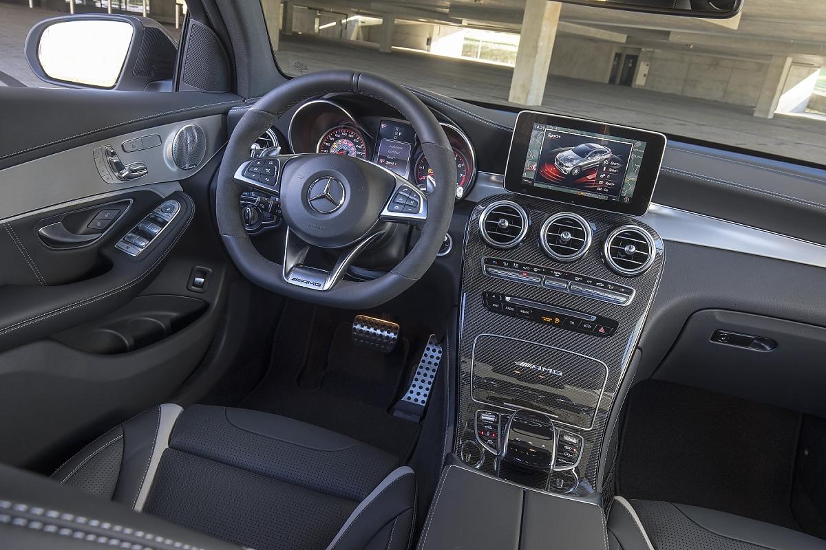 Mercedes AMG GLC 63 S: Alle Acht-ung!