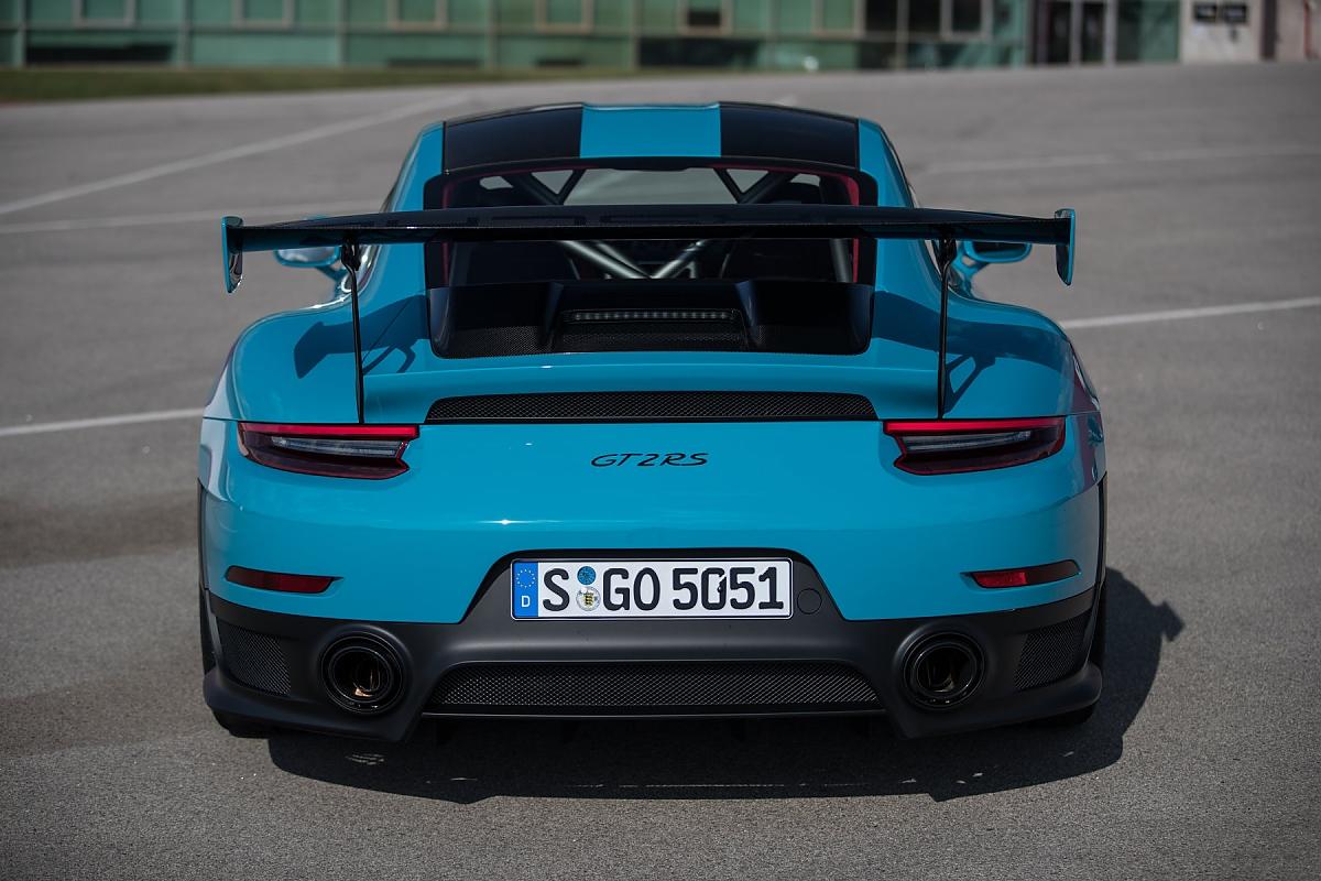 Porsche 911 Gt2 Rs Extremster Elfer Aller Zeiten