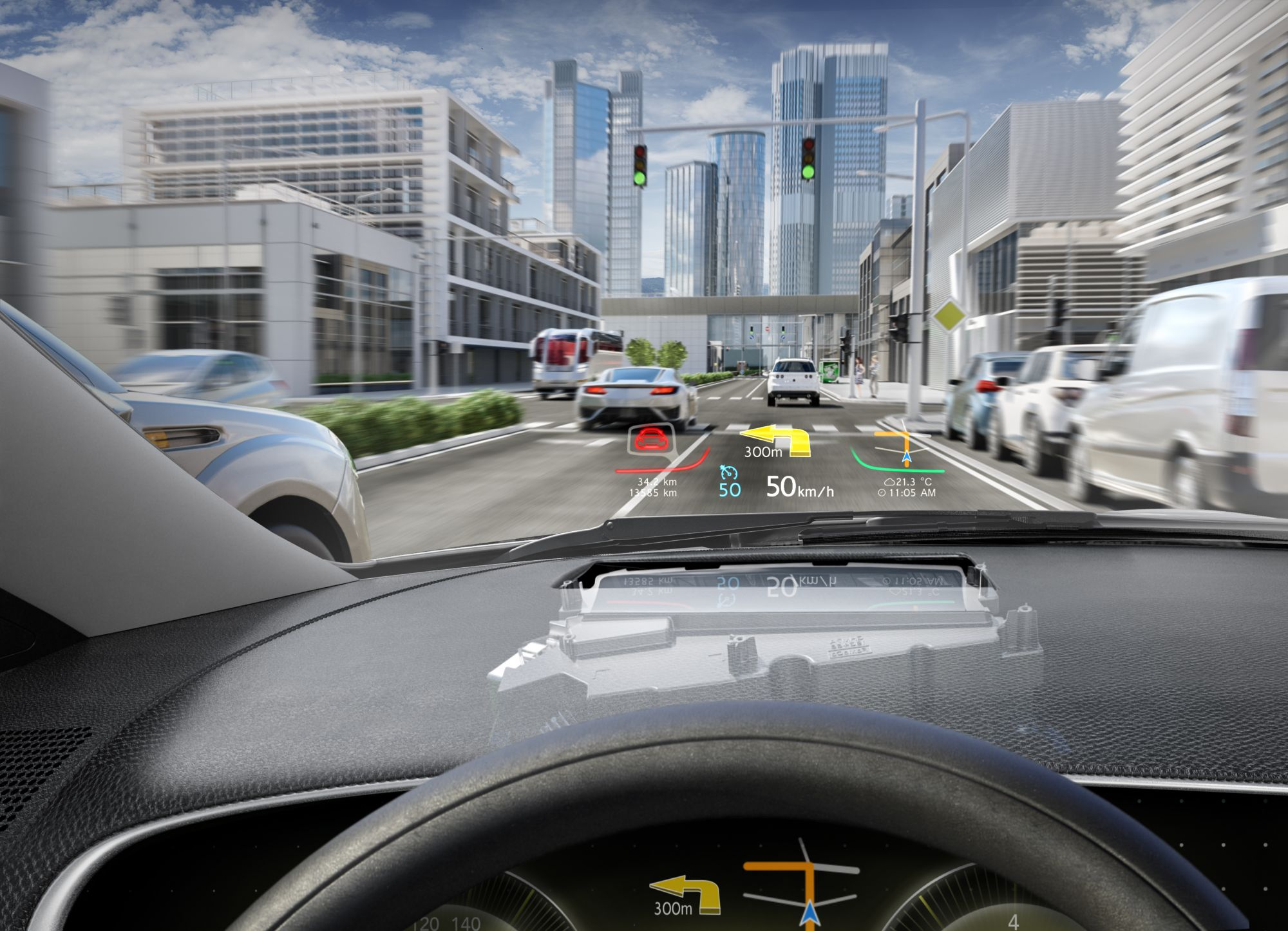 Continental Head-up-Display DMD-Technologie