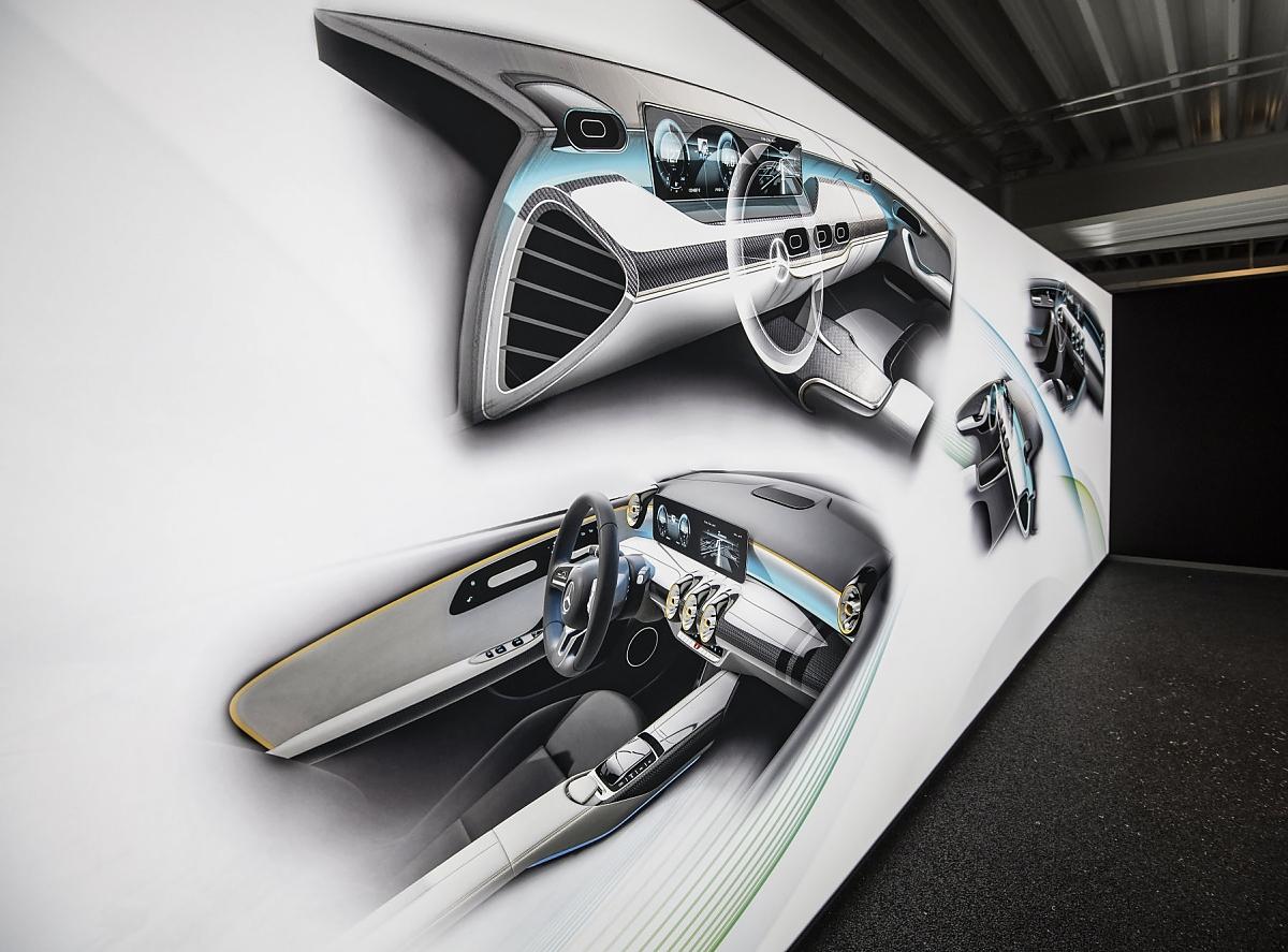 Mercedes a klasse 2018 familie w chst auf acht varianten for Interieur mercedes a klasse