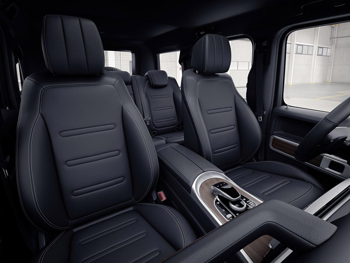 Daimler zeigt Interieur-Details der neuen G-Klasse