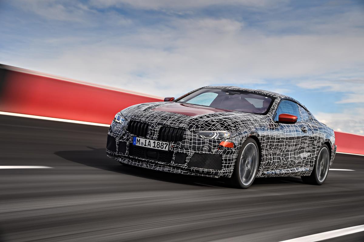 Das Beim BMW 8er Gewonnene Know How Soll Auch Die Entwicklung Des Neuen M8 Vorantreiben Bild