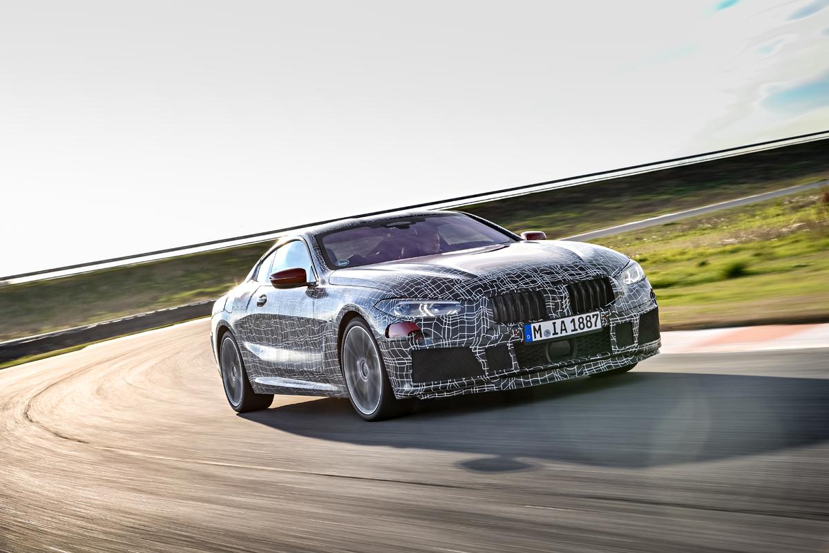 BMW 8er Coupe Entwicklung Parallel Zum M8 Sowie Rennfahrzeug GTE Bild